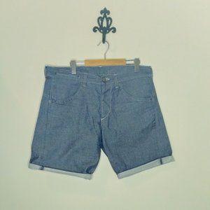 Handmade Repurposed Denim Shorts